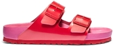 Birkenstock x Kirna Zabête Arizona Red & Fuchsia Slide
