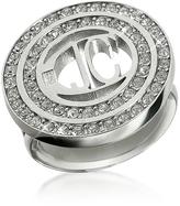 Just Cavalli Rolly - Crystal Logo Ring