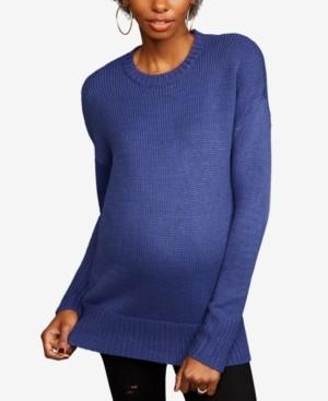Line Maternity Crewneck Sweater