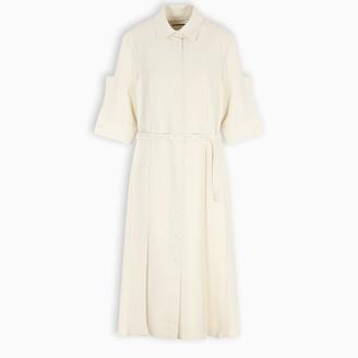 Jil Sander Wool shirt dress