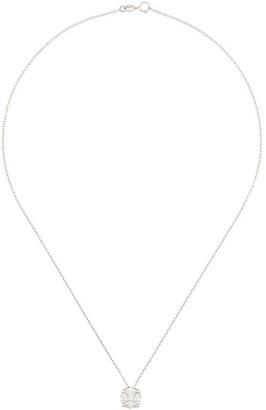 Monan 18kt White Gold Diamond Pendant Necklace