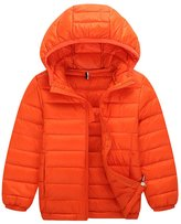 Tortor 1Bacha Baby Kid Boys' Packable Hooded Down Puffer Jacket