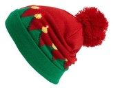 Capelli of New York Women's Elf Led Beanie - Red