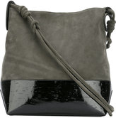 Dorothee Schumacher - Redefined Simplicity shoulder bag - women - Cork/Cotton/Calf Leather/Polyurethane - One Size
