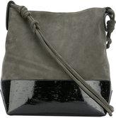 Dorothee Schumacher - Redefined Simplicity shoulder bag - women - Cotton/Calf Leather/Polyurethane/Cork - One Size