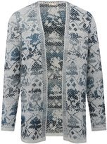 M&Co Jacquard open front cardigan