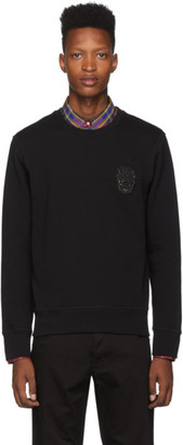 Alexander McQueen Black French Terry Sweatshirt
