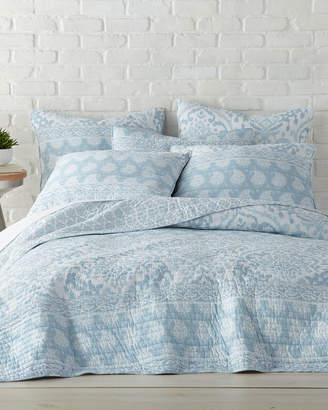 Levtex Aragon Blue King Quilt Set