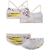 Kenzo KidsGirls Tiger & Leopard Reversible Bikini