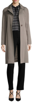 Cinzia Rocca Cotton Belted Over Coat