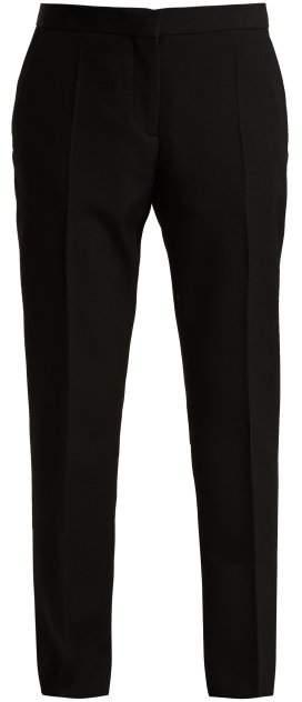 Burberry Straight Leg Trouser - Womens - Black