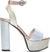 Carvela Geranium metallic platform sandals