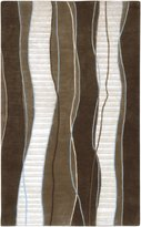 Surya IN8072-23 Brown Mugal Collection Rug - 2ft X 3ft