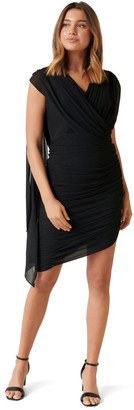 Forever New Miriam Ruched Drape Dress