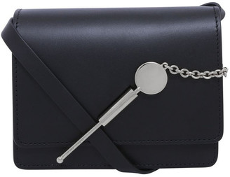 Sophie Hulme Micro Cocktail Stirrer Flap Over Crossbody Bag
