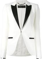 Barbara Bui peaked lapel blazer - women - Polyester/Viscose/Wool/Spandex/Elastane - 38