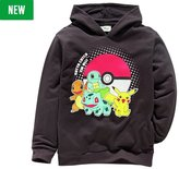 Pokemon Black Hoodie - 5-6 Years