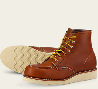 Red Wing Shoes 3375 Moc Toe Oro-Legacy Women - US 6 - Brown