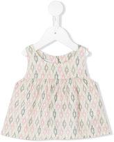 Violeta E Federico - sleeveless printed top - kids - Viscose - 3 mth