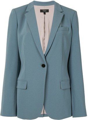 Theory Long-Sleeved Fitted Blazer