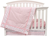 Trend Lab Pink Sky Three-Piece Crib Bedding Set