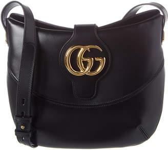 Gucci Gg Arli Medium Leather Shoulder Bag