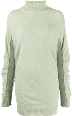 MM6 MAISON MARGIELA Ruched Knitted Jumper