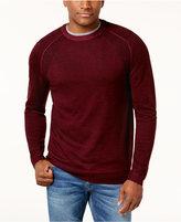 Club Room Men's Raglan-Sleeve Merino Wool Sweater, Created for Macy's