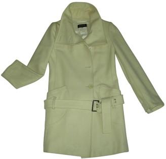Patrizia Pepe White Wool Coat for Women Vintage