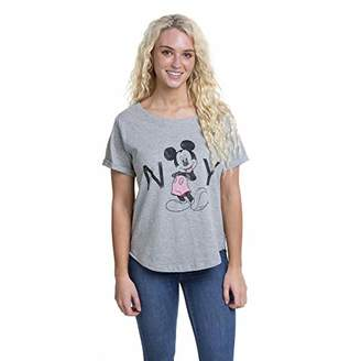 Disney Women's Mickey Mouse New York T - Shirt,14 (Size:Large)