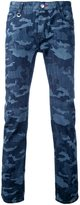 GUILD PRIME camouflage slim-fit jeans
