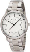 Kenneth Cole New York Men's KC3906 Cyber Round Bracelet Date Watch