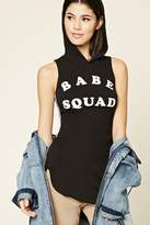 Forever 21 Babe Squad Graphic Top