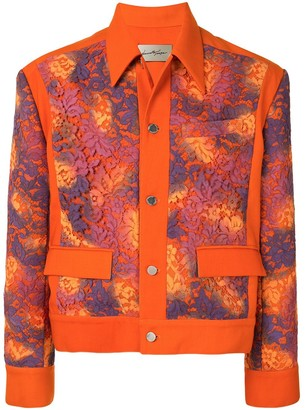 Necessity Sense Nicholas hand-painted lace jacket
