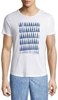 Orlebar Brown OB-T Athabasca Tailored-Fit Crewneck T-Shirt, White/Navy