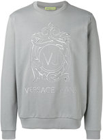 Versace logo sweatshirt - men - Cotton - L