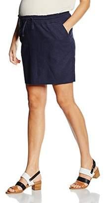 Mama Licious MAMALICIOUS Women's MLWINNIE LINEN SKIRT Maternity Skirt,38 (Manufacturer size: Medium)