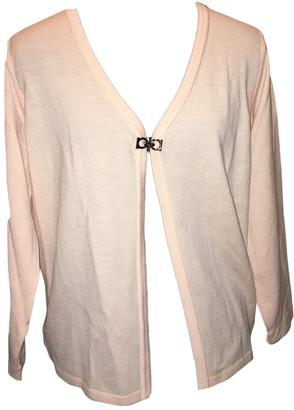 Salvatore Ferragamo Pink Cashmere Knitwear
