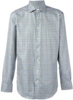 Etro plaid button down shirt - men - Cotton - 39