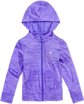 Champion Hooded Zip-Up Sweatshirt, Little Girls (2T-6X)