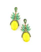 Elizabeth Cole Ananas Earrings