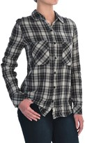 Seven7 Two-Pocket Plaid Shirt - Long Sleeve (For Women)
