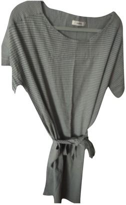 Humanoid Grey Cotton - elasthane Dress for Women