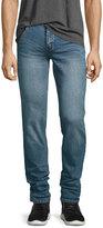 Cheap Monday Tight Slim-Fit Denim Jeans, Blue