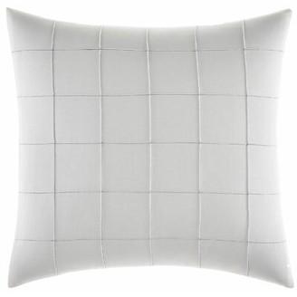 Vera Wang Shibori Grid Pin Tuck Throw Pillow