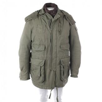 DSQUARED2 Khaki Cotton Coat for Women