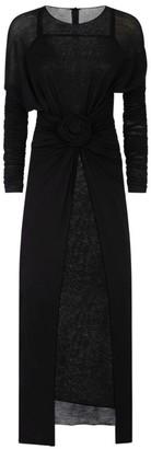 Dolce & Gabbana Round-Neck Wool Dress