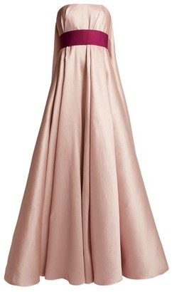Alexis Mabille Belted Strapless Gown