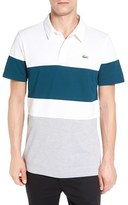 Lacoste Men's Colorblock Ultra Dry Golf Polo