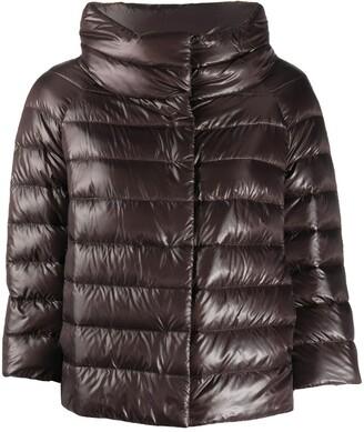 Herno Sofia cropped puffer jacket